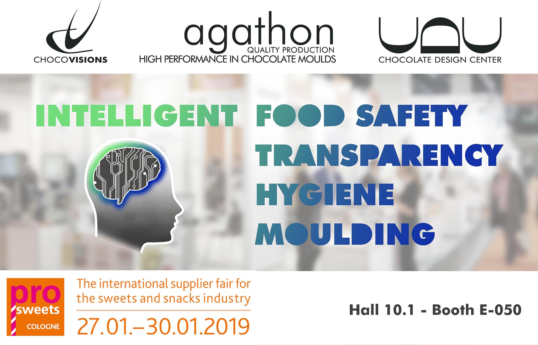ProSweets 2019 in Cologne, Germany